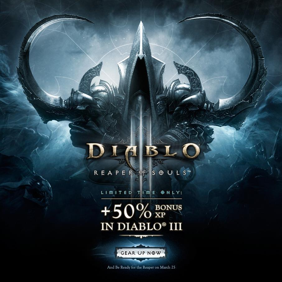 Diablo III bonus XP