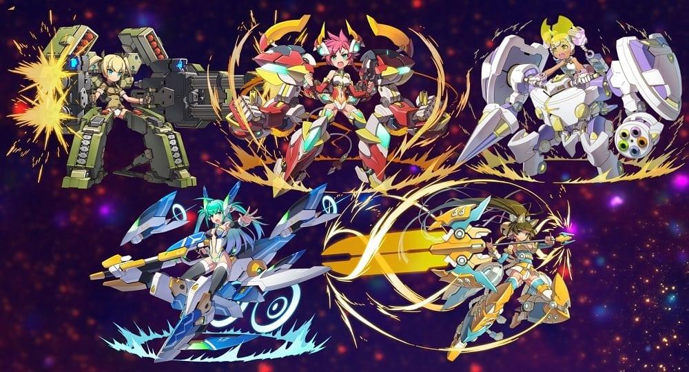 LINEZETA Frontier game characters