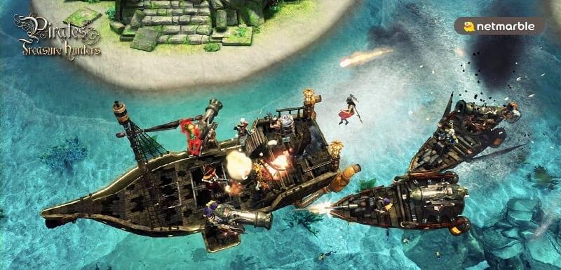 Pirates Treasure Hunters screenshot 5