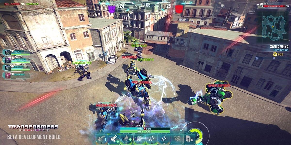 Transformers Universe screenshot 1