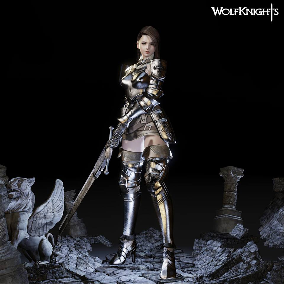 Wolfknights character model 1