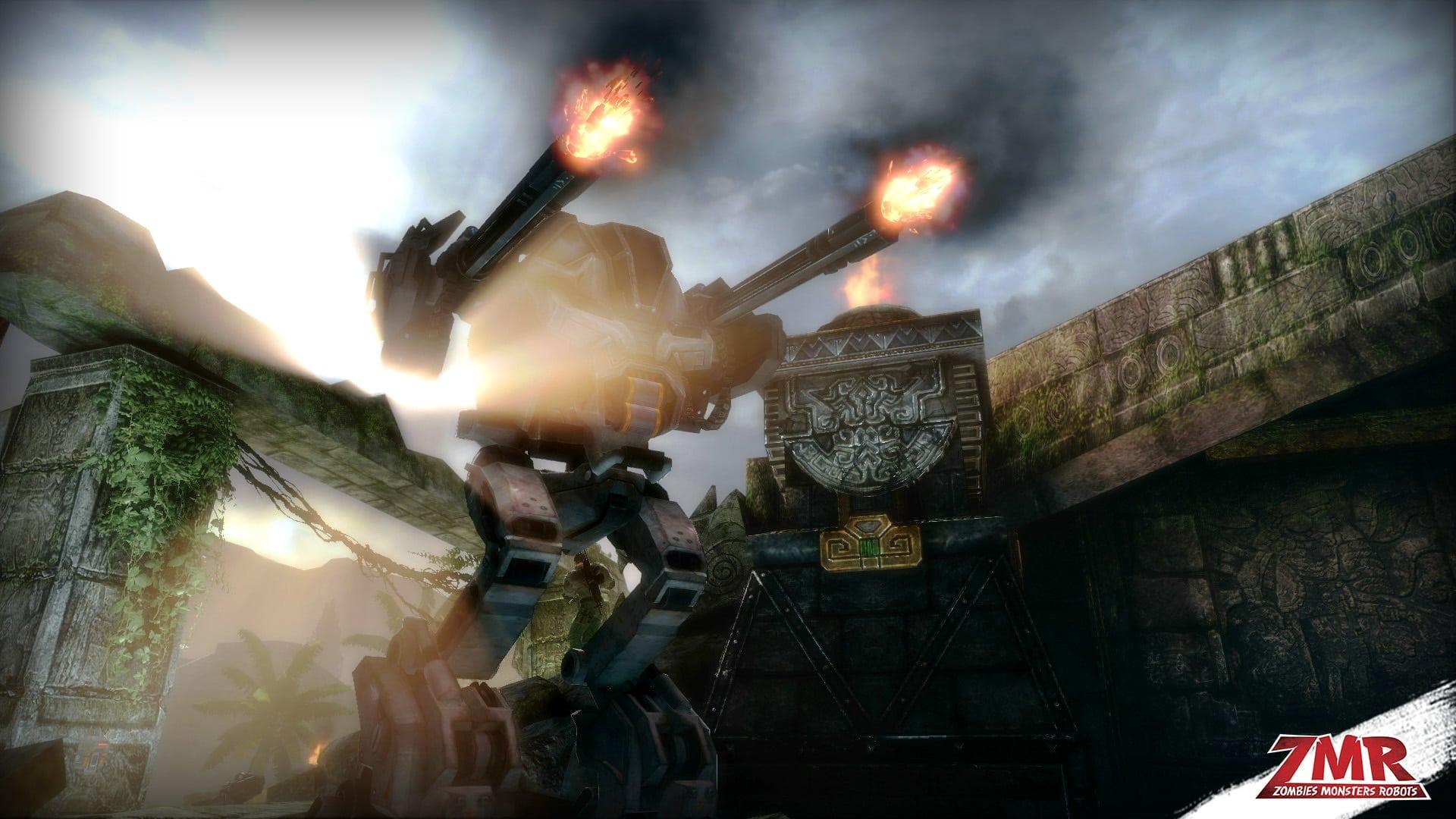 Zombies Monsters Robots - Announcement screenshot 4
