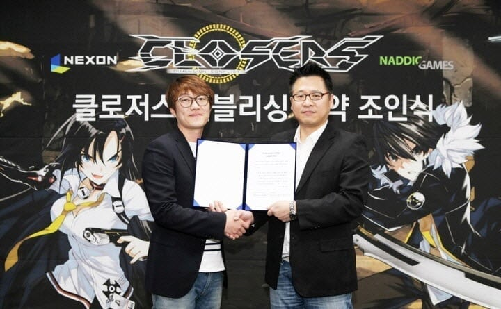 Closers Korea signing ceremony