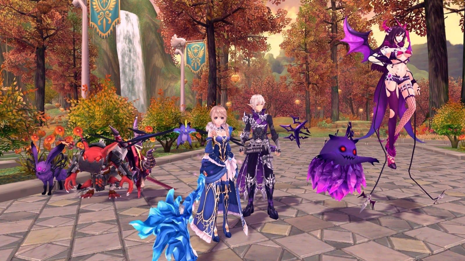 Fantasy Frontier - Scythe summons 2