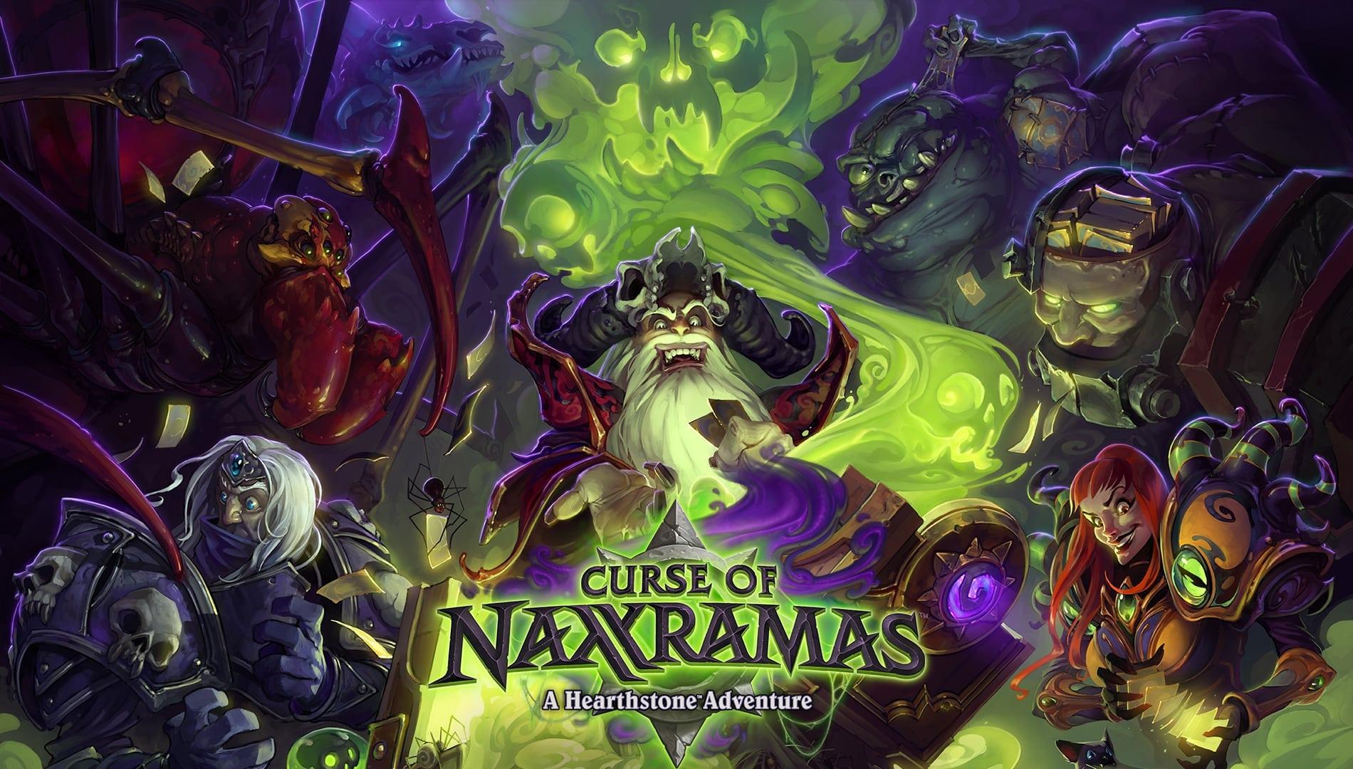 Hearthstone Curse of Naxxramas poster