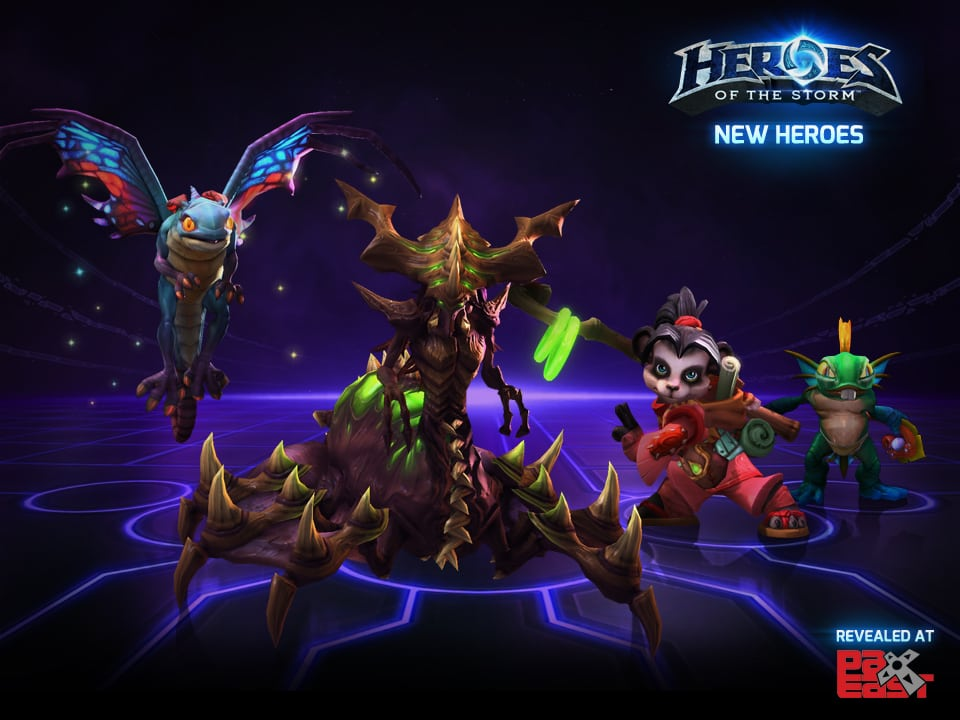 Heroes of the Storm - PAX East 2014 reveal