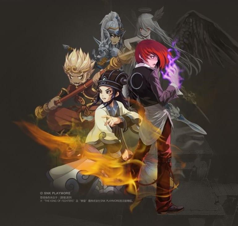 Lost Saga China characters