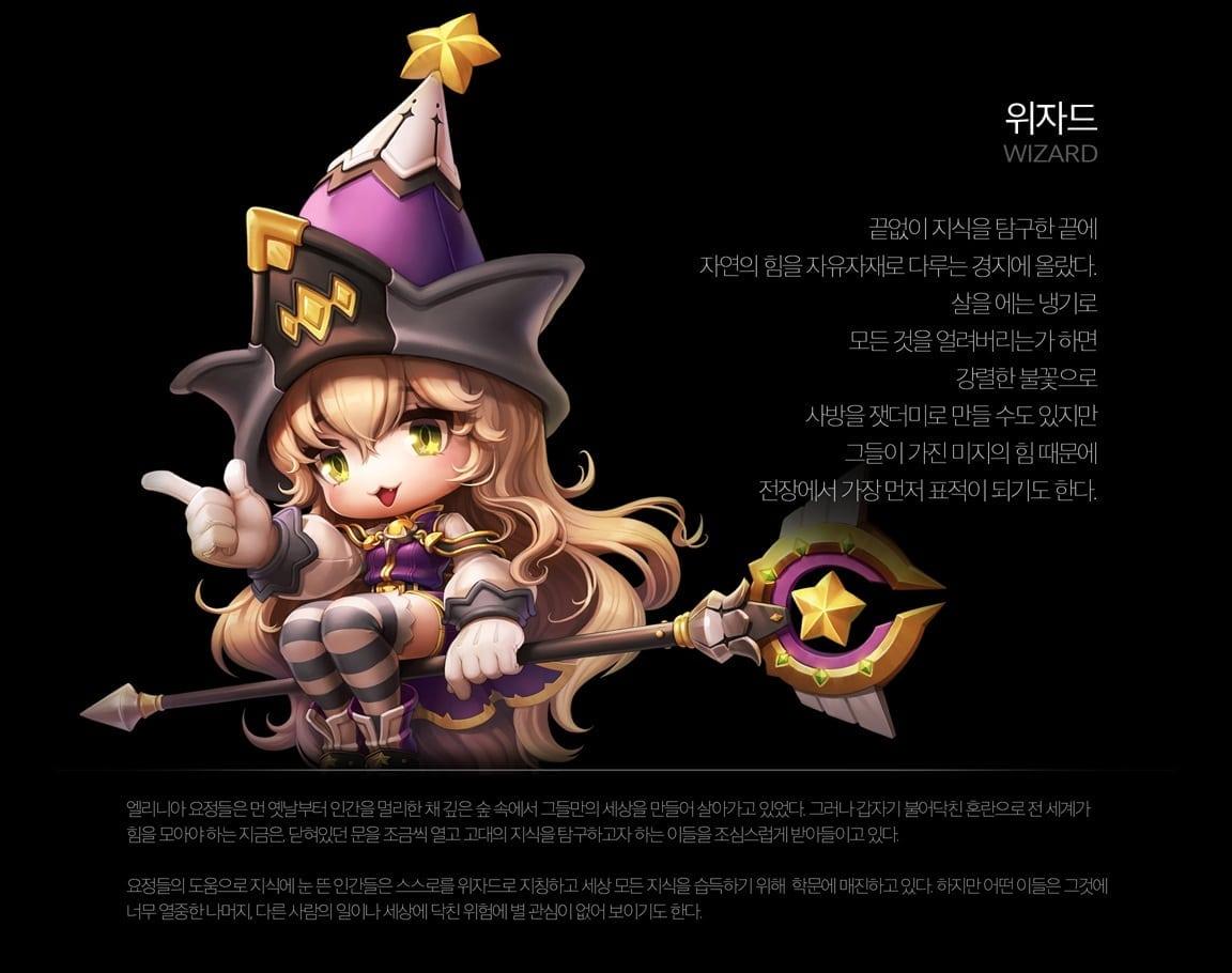 MapleStory 2 - Wizard