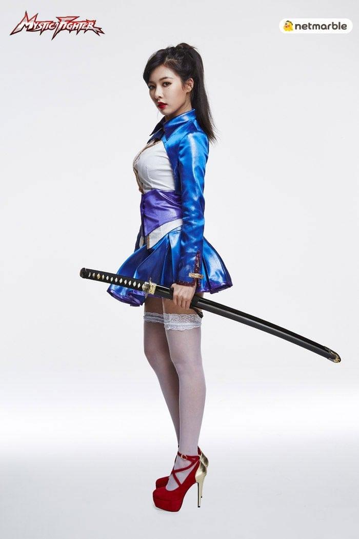 Mystic Fighter - Hyuna cosplay 5