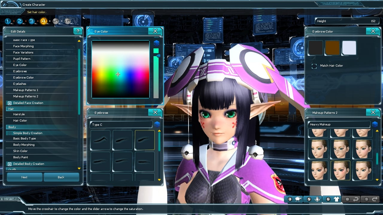 Phantasy Star Online 2 SEA - Character customization 1