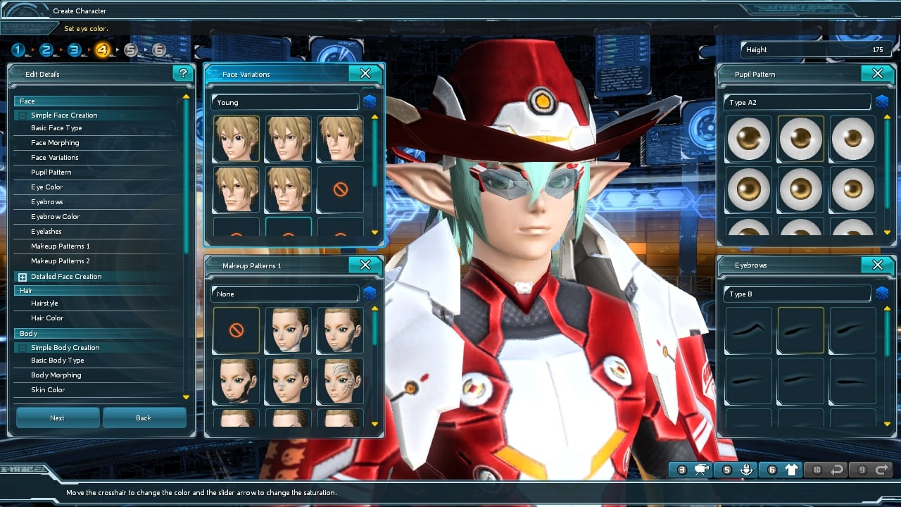 Phantasy Star Online 2 SEA - Character customization 2