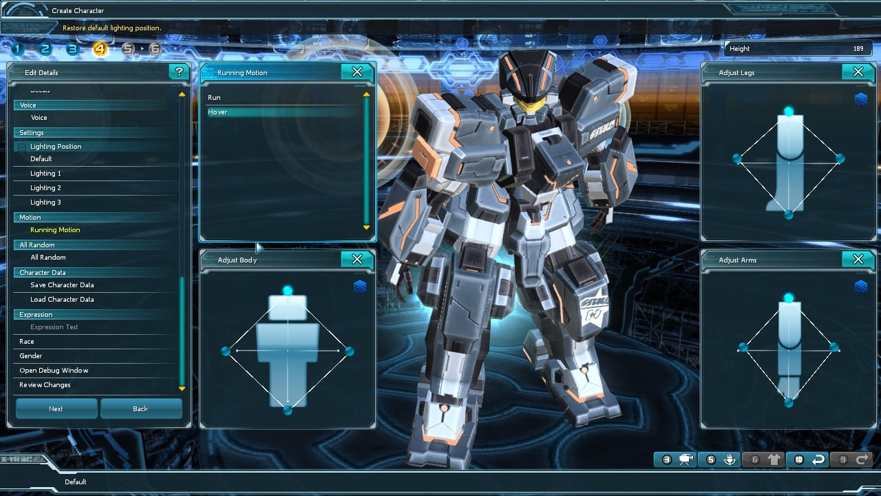 Phantasy Star Online 2 SEA - Character customization 3