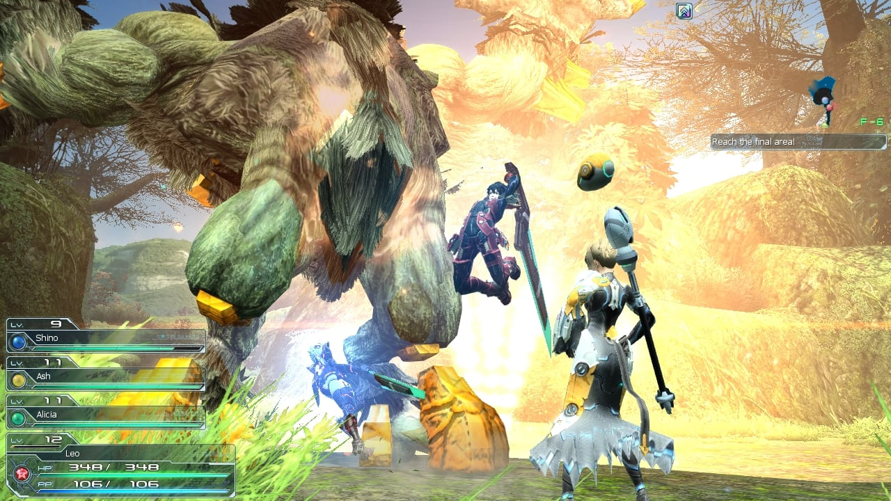 Phantasy Star Online 2 SEA - Gameplay screenshot