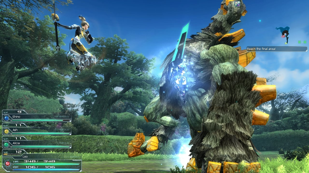 Phantasy Star Online 2 SEA - Gameplay screenshot