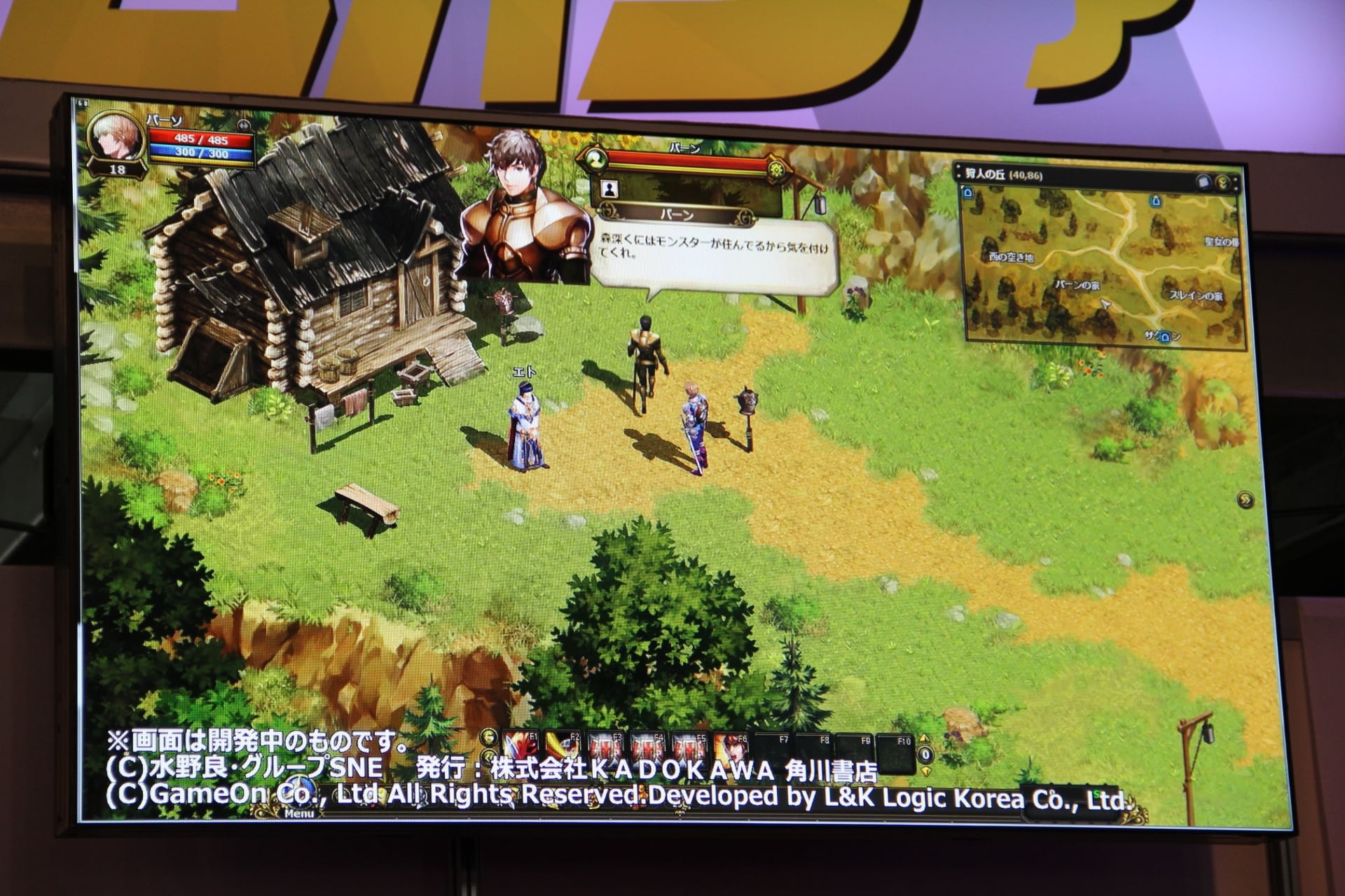 Record of Lodoss War Online sceenshot 4