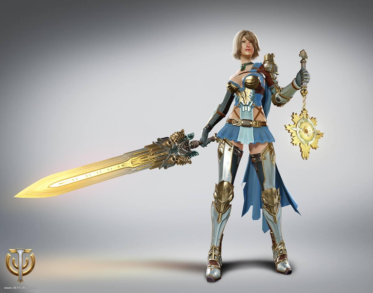 Skyforge - Female Paladin
