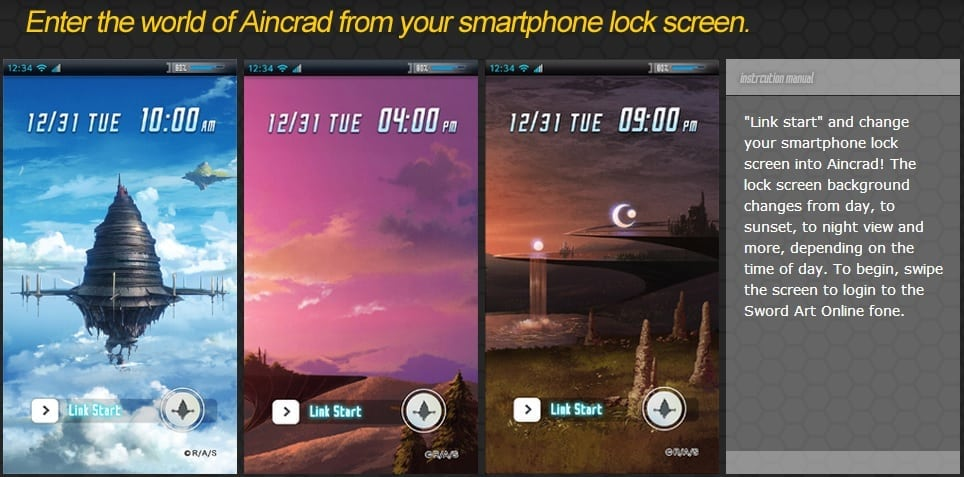 Sword Art Online Fone feature 1