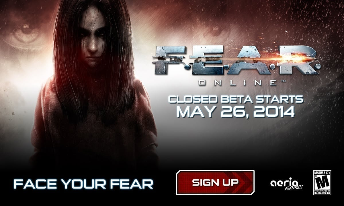 FEAR Online Closed Beta banner
