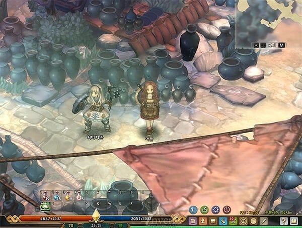 Tree of Savior - First UI screenshot