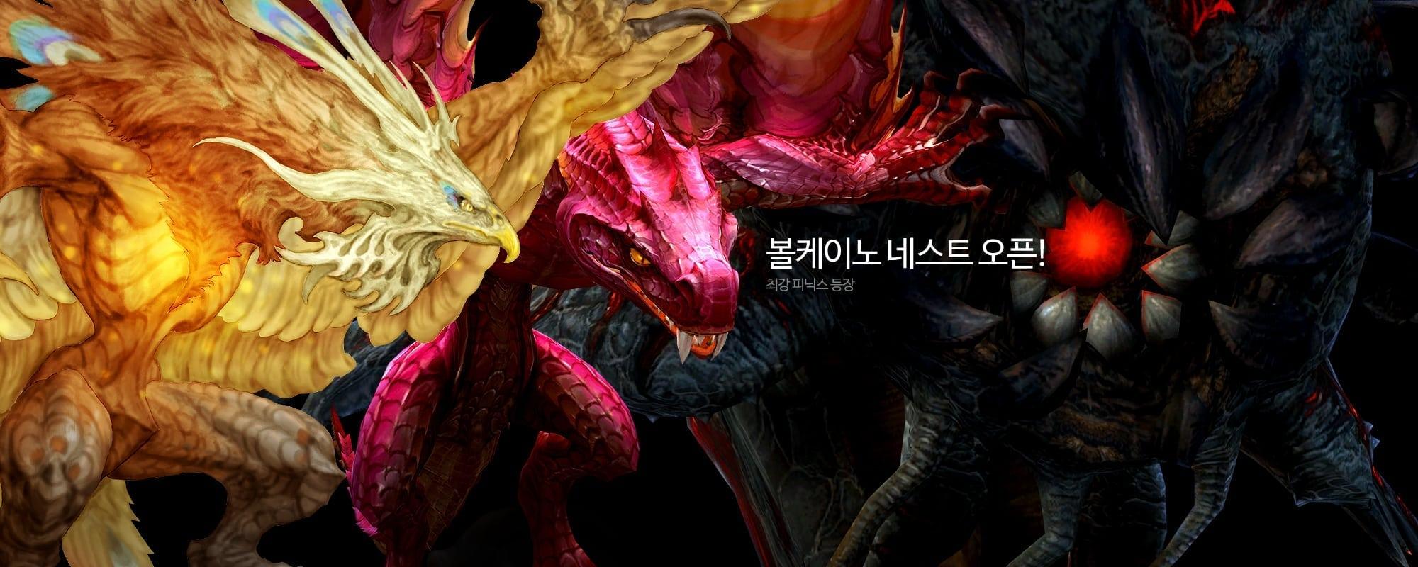 Dragon Nest - Phoenix and new bosses