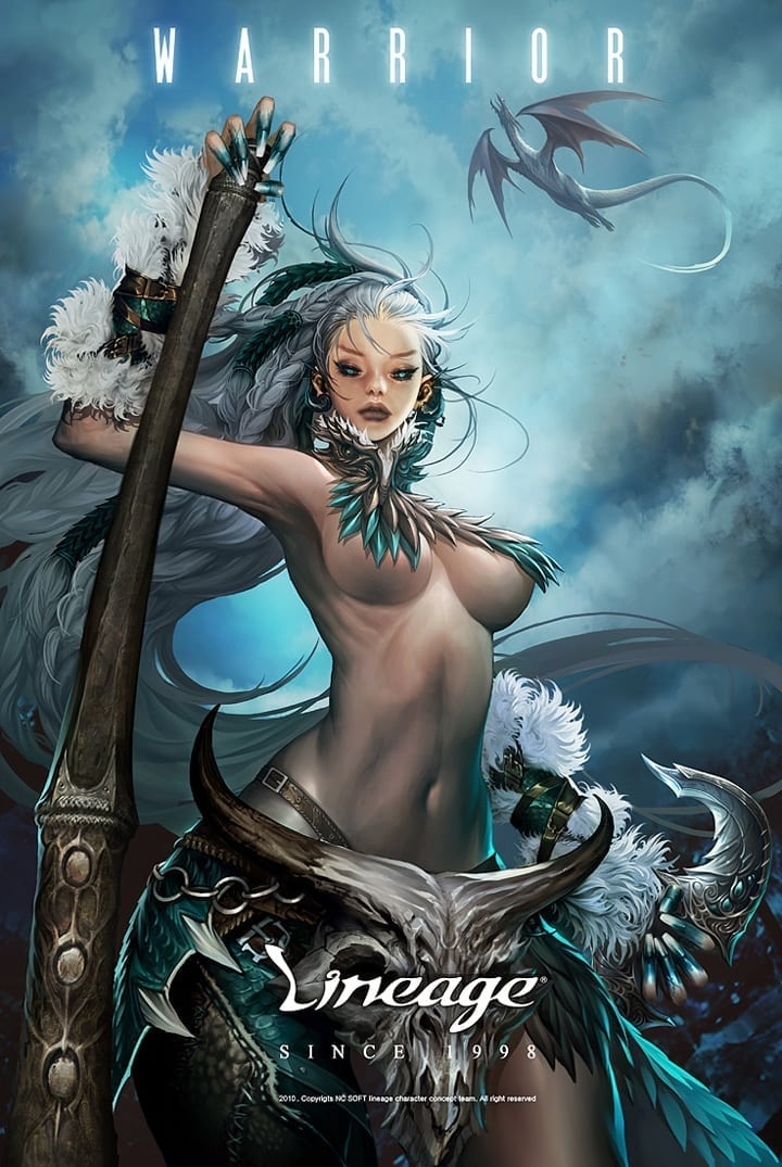 Linage - Female Warrior poster