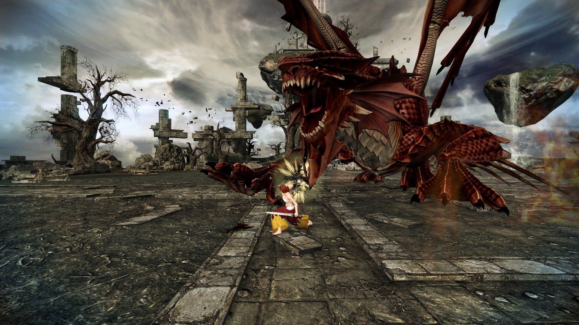 Mabinogi Heroes Japan - Fairy Tail combat screenshot 1