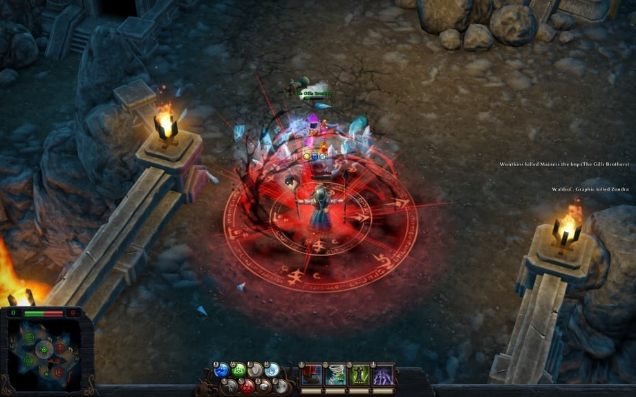 Magicka Wizard Wars screenshot 1