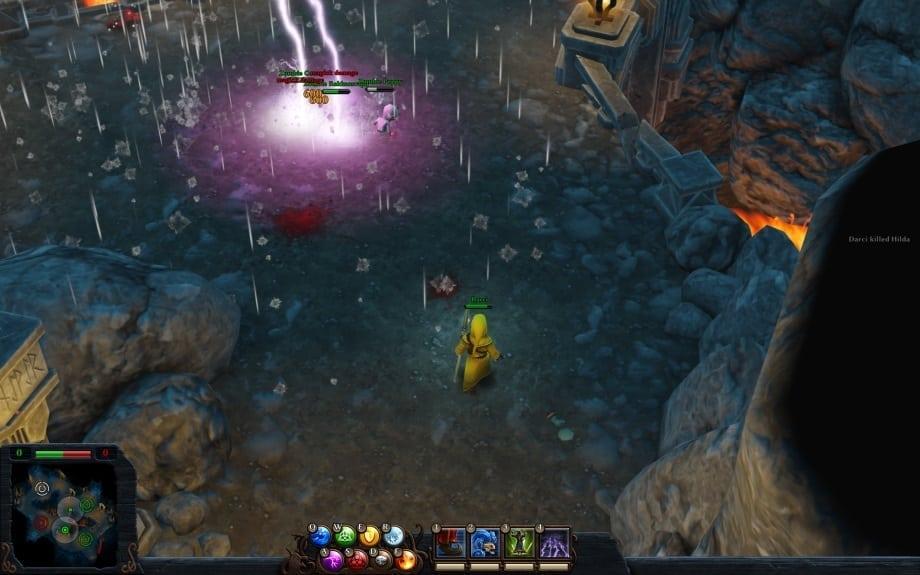 Magicka Wizard Wars screenshot 2