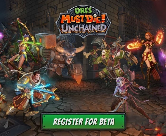 Orcs Must Die Unchained - Register for Closed Beta
