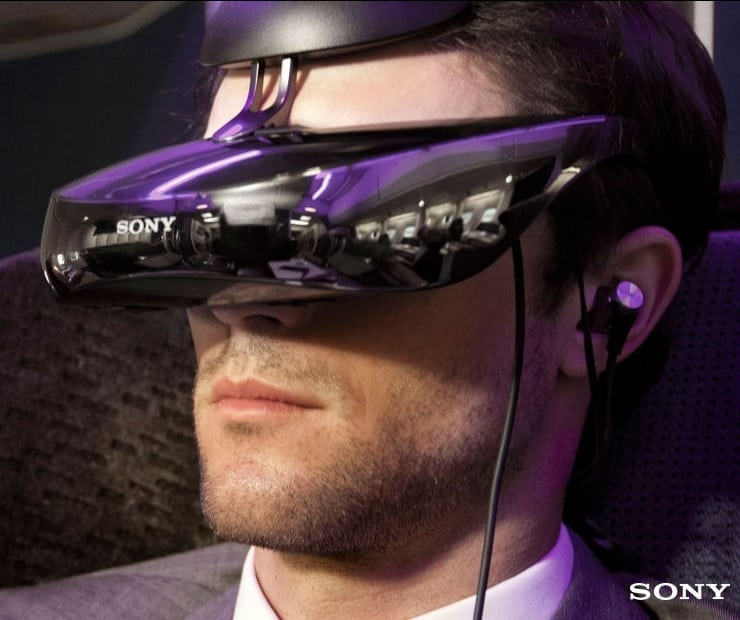 Sony 3D personal viewer