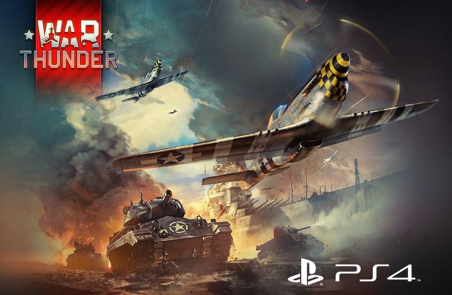 War Thunder PS4