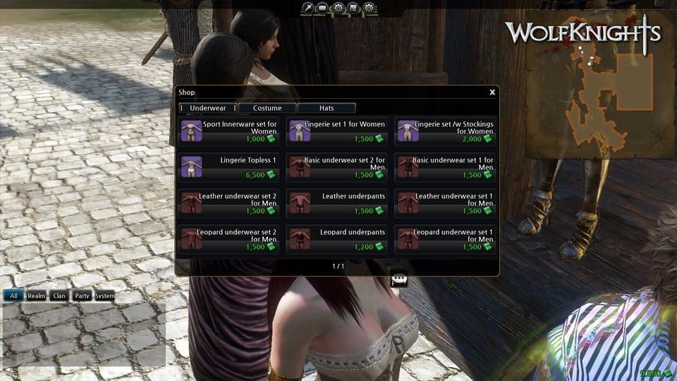Wolfknights - English screenshot