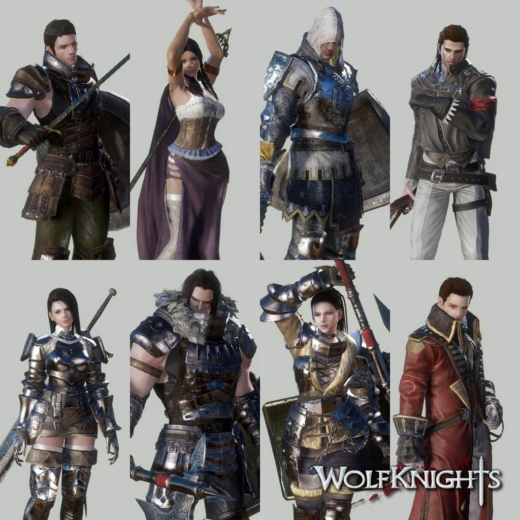 Wolfknights - Playable classes