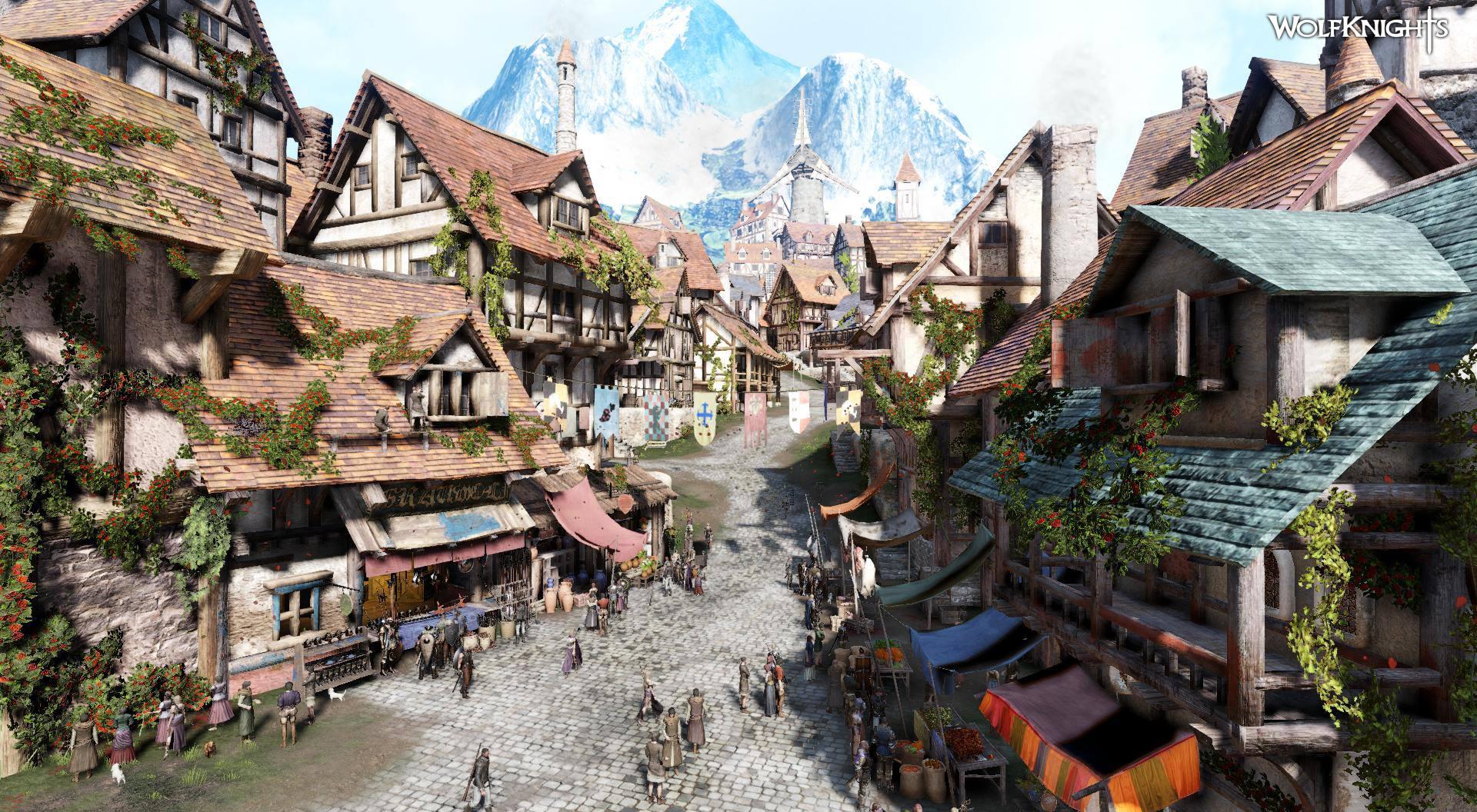 Wolfknights - Town screenshot