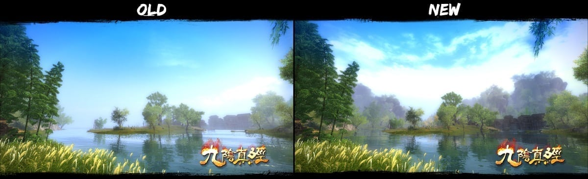 Age of Wushu - Upgrade comparison 2