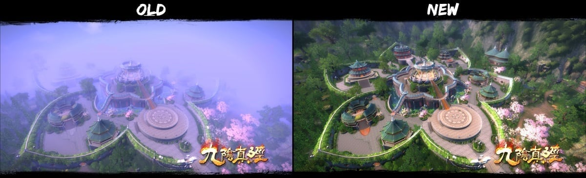 Age of Wushu - Upgrade comparison 3