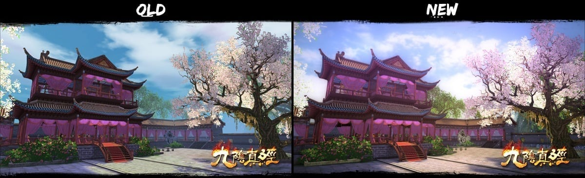 Age of Wushu - Upgrade comparison 4