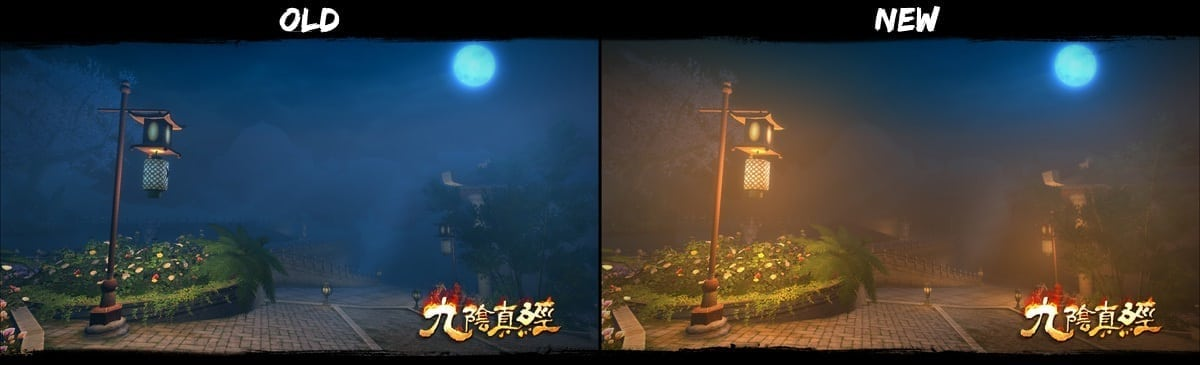Age of Wushu - Upgrade comparison 6