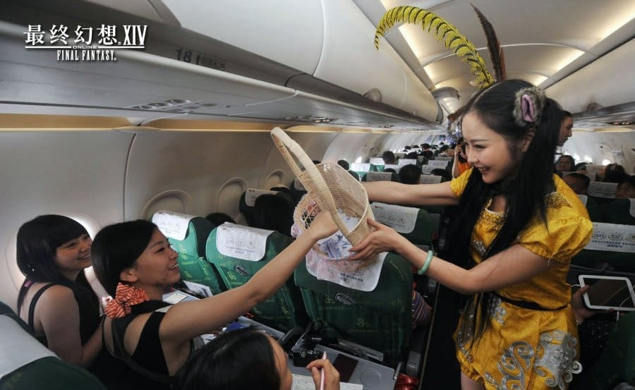 Final Fantasy XIV China - Spring Airlines promo photo 1