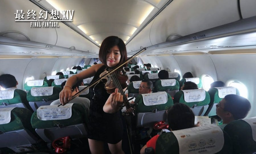 Final Fantasy XIV China - Spring Airlines promo photo 2