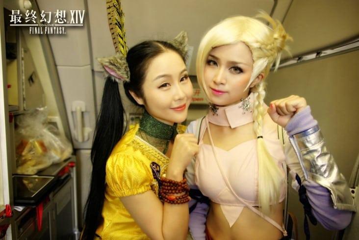 Final Fantasy XIV China - Spring Airlines promo photo 3