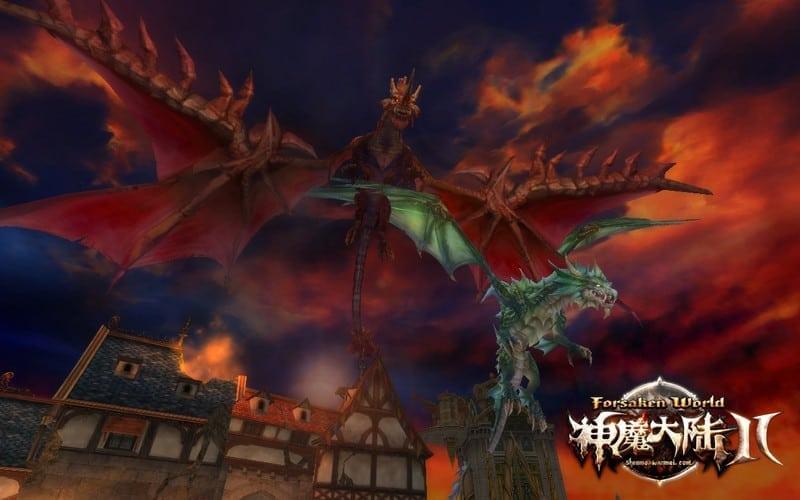 Forsaken World 2 - Storm Legion dragons
