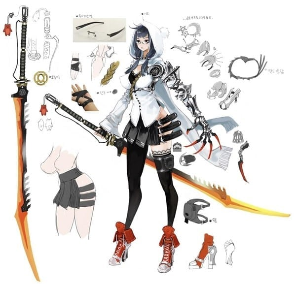 Mabinogi Heroes - Arisha concept