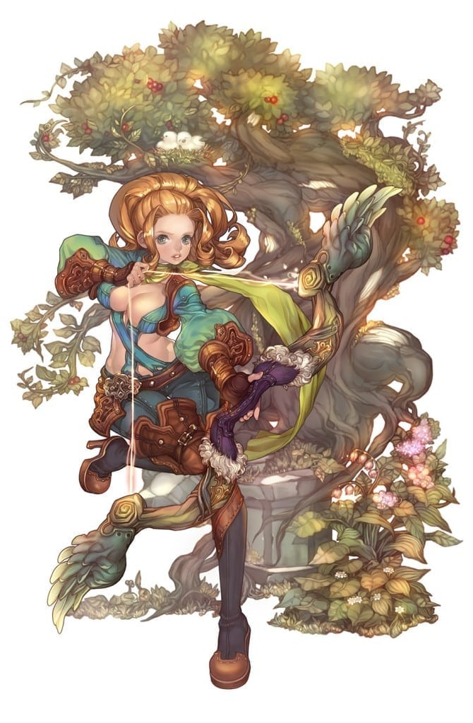 Tree of Savior - Archer artwork