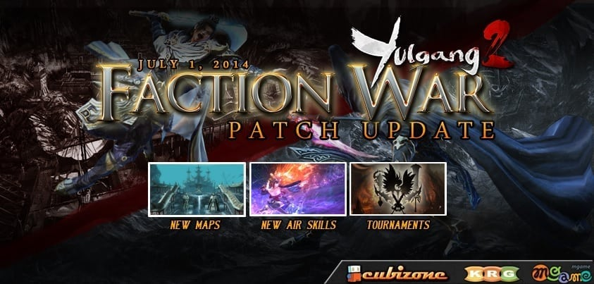 Yulgang 2 SEA - Faction War update