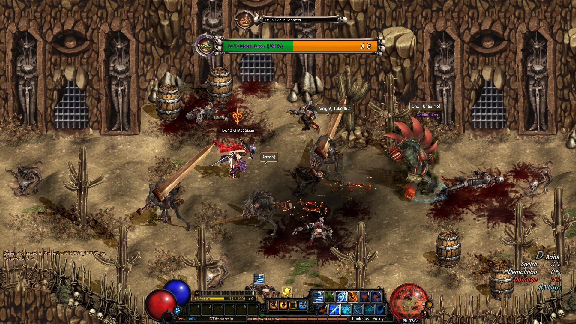 Dark Blood Online - Thief screenshot 2