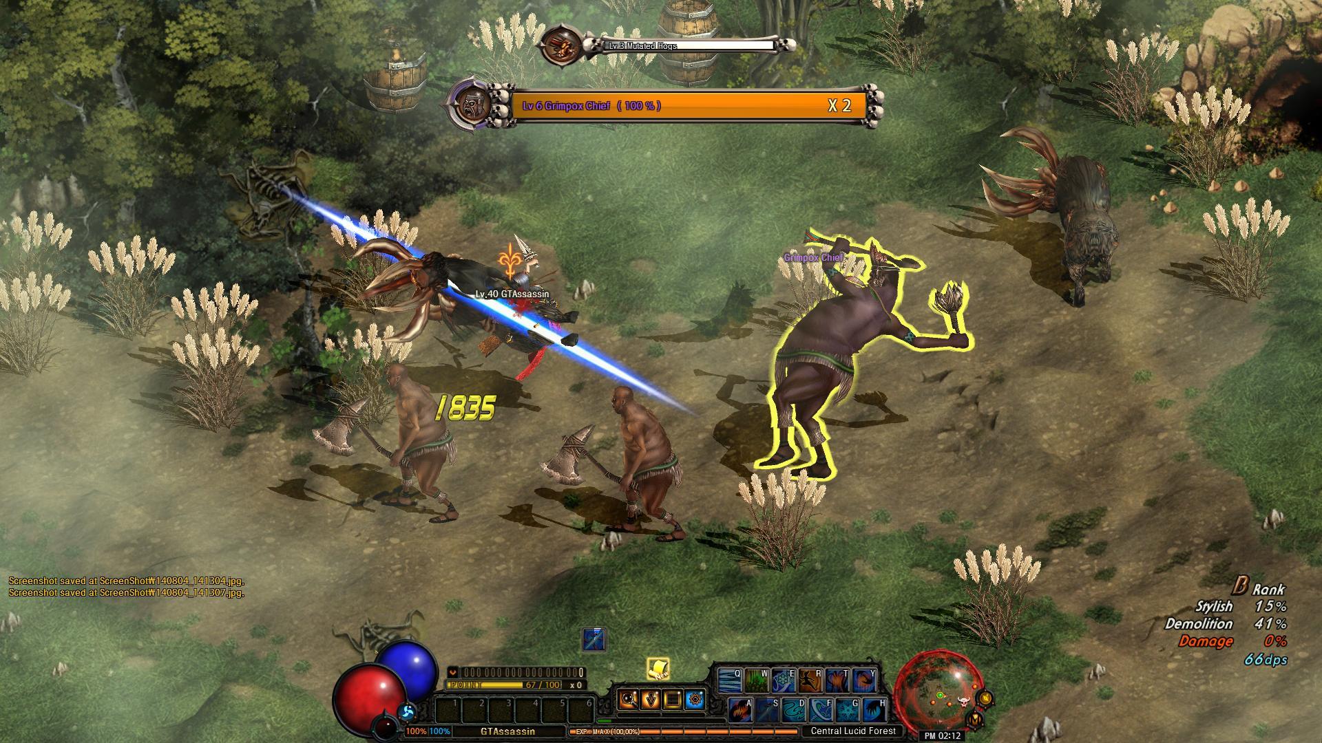 Dark Blood Online - Thief screenshot 3