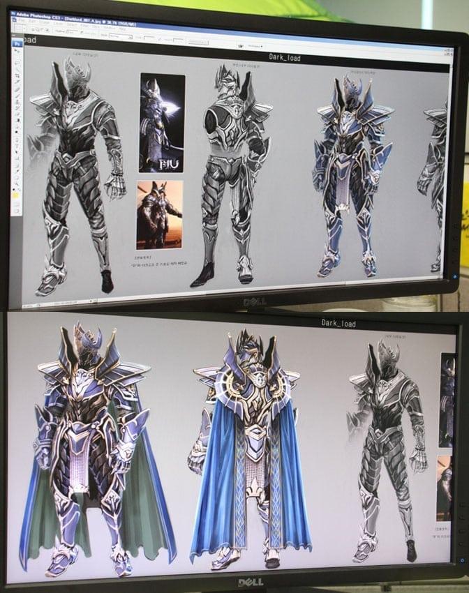 MU Online 2 - Dark Lord class artwork