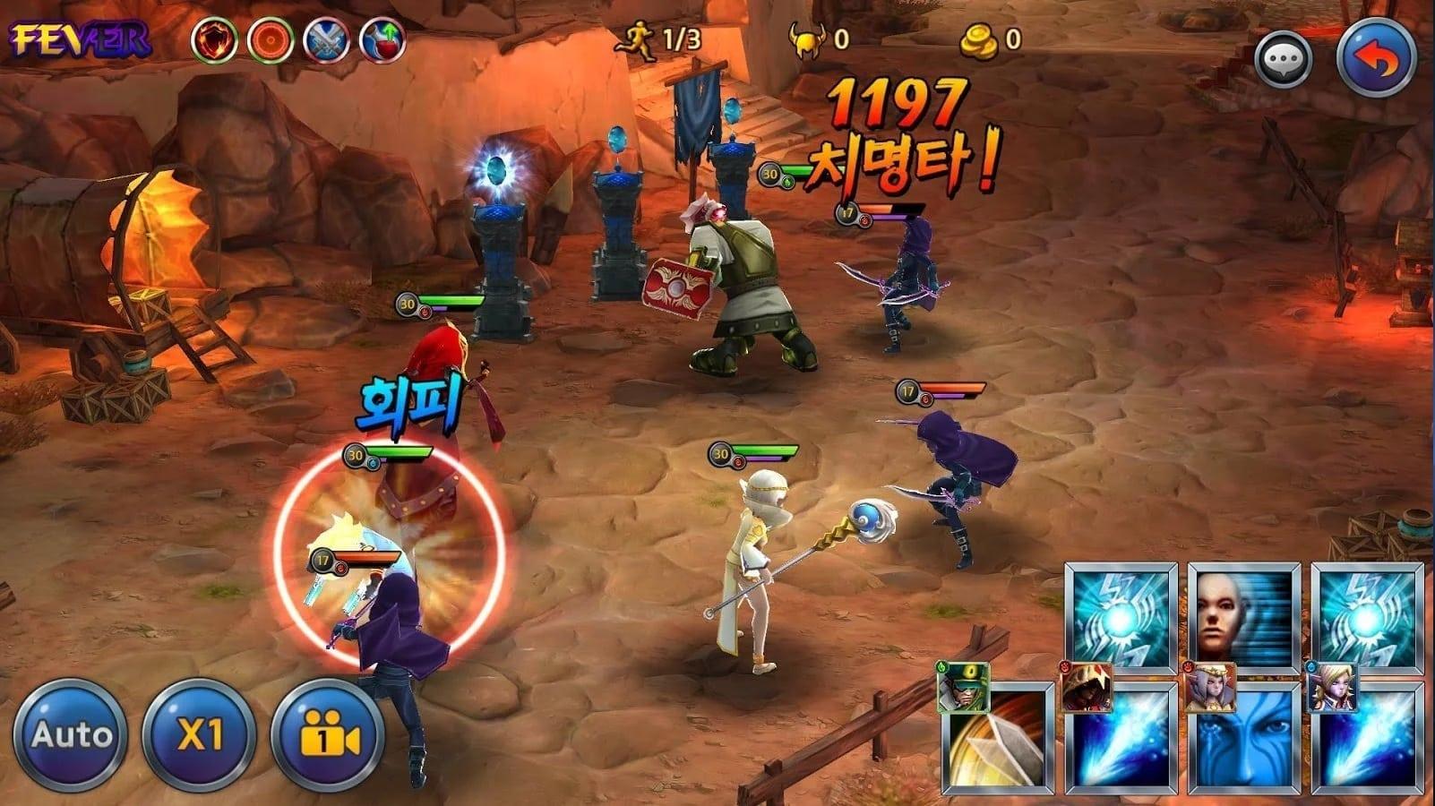 Mythos Heroes screenshot 2