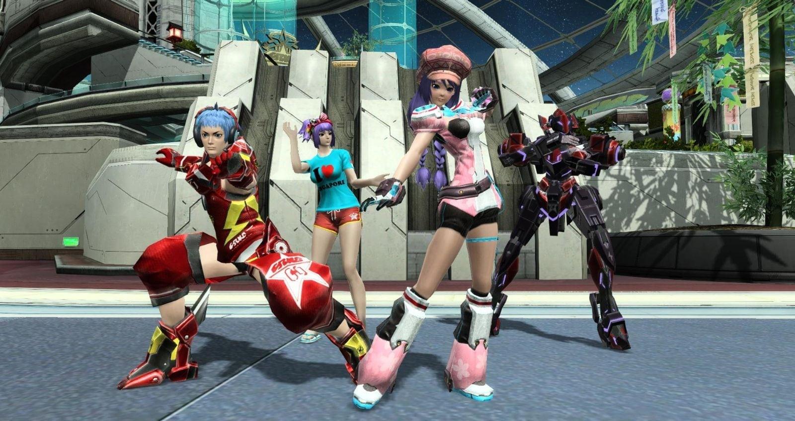 Phantasy Star Online 2 SEA - Summer costumes 1